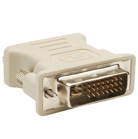 Переходник DVI DVI-I - VGA Серый